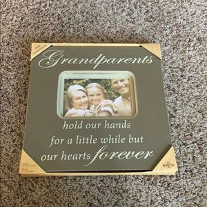 Grandparents Wooden Frame NWT